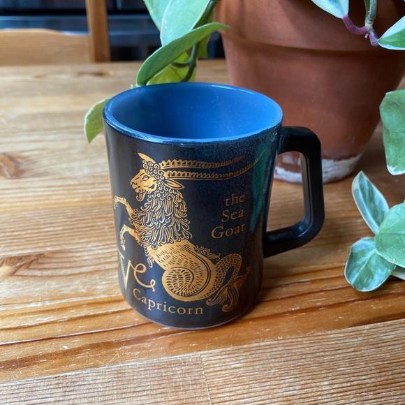 Vintage Zodiac Capricorn Mug